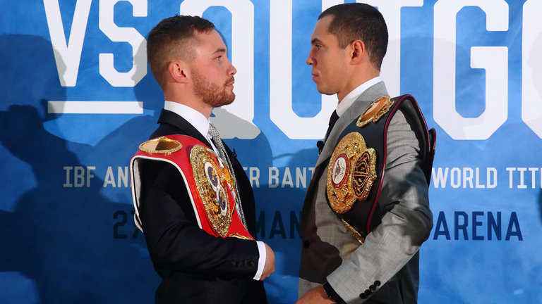 Carl Frampton takes on rival Scott Quigg in what may become a classic match up.