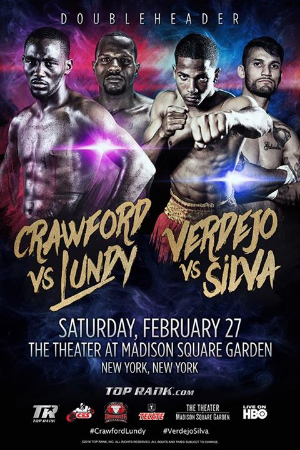 Crawford vs. Lundy Poster
