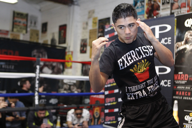 Joseph Diaz Jr. is ready for his HBO debut showdown with Jayson Velez. Photo Credit: Tom Hogan - HoganPhotos/Roc Nation Sports