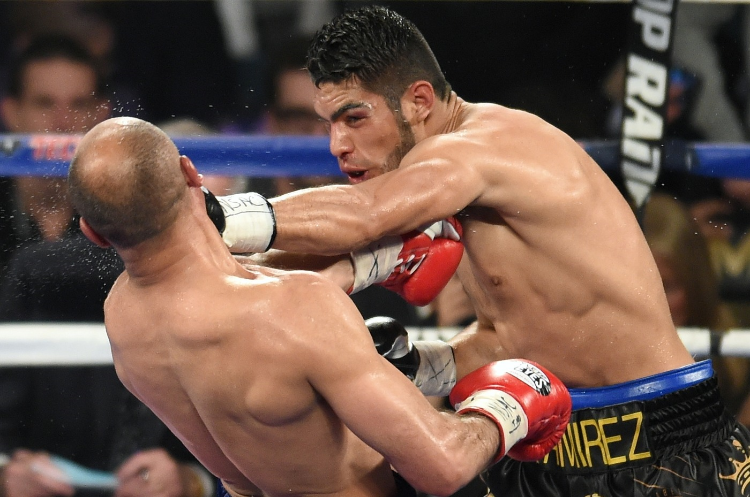 Gilberto Ramirez systematically dismantled Arthur Abraham when the two met earlier this month. Could Golvkin be next? Photo credit: Naoki Fukuda