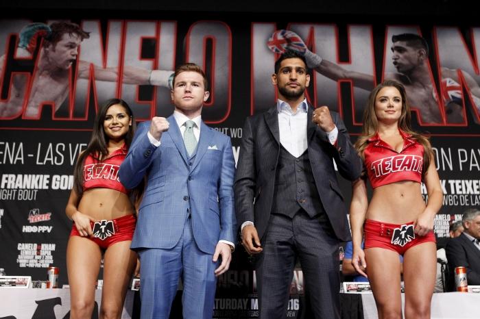 Canelo Alvarez vs. Amir Khan Boxing
