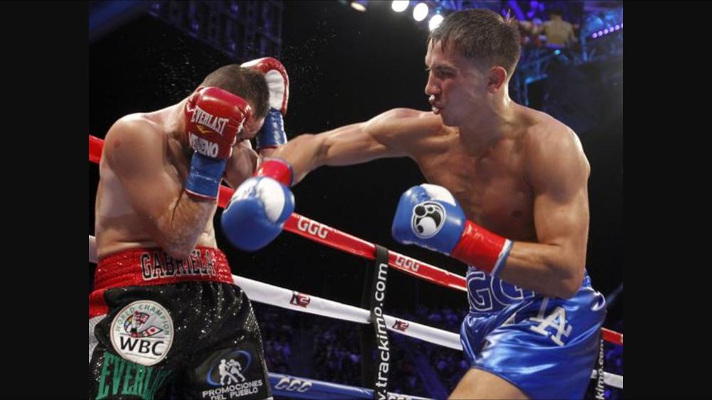 Gennady Golovkin wins the WBC interim championship against Marco Antonio Rubio. Photo: Alex Gallardo/ AP