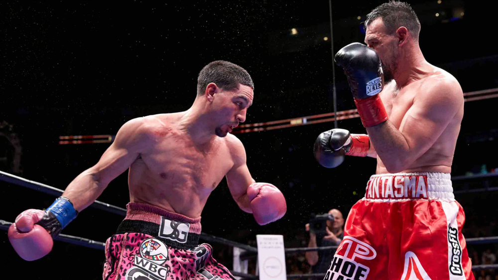 Danny Garcia won the WBC welterweight title against Robert Guerrero last January. Photo: Suzanne Theresa/Premier Boxing Champions