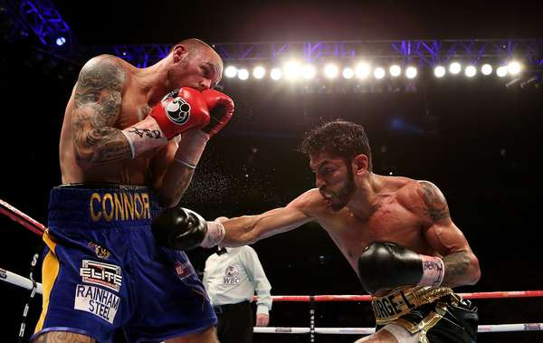 Jorge Linares faced Kevin Mitchell last year in the UK. Photo: Getty Images