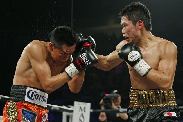 Takashi Miura faced Francisco Vargas last November in the 2015 fight of the year. Photo: John Locher/Associated Press