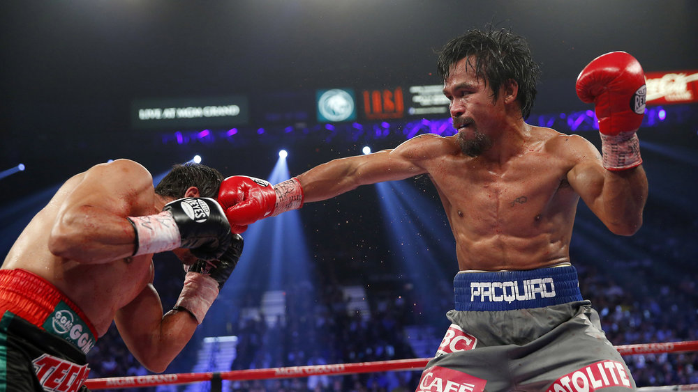 Manny Pacquiao vs. Juan Manuel Marquez IV won   fight   of the year honors in 2012. Photo: Will Hart/HBO