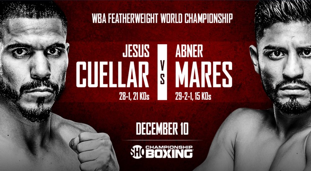 Jesus Cuellar vs. Abner Mares will take place on December 10th. Photo: Showtime Sports