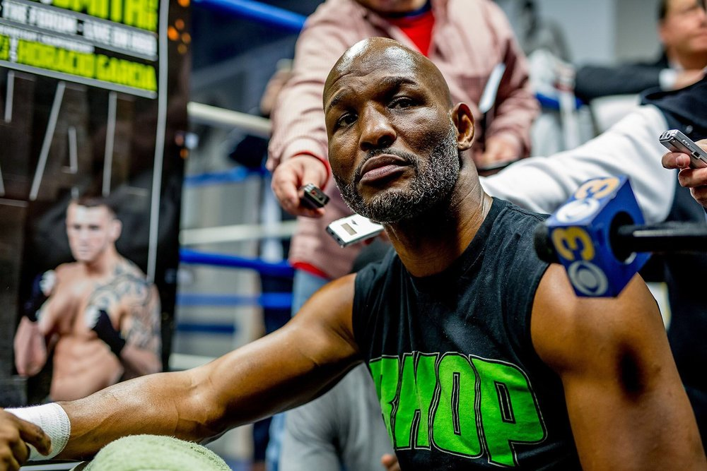 Bernard Hopkins prepares to step in the ring for a final time when he faces light heavyweight Joe Smith Jr.  Photo Credit: Golden Boy Promotions