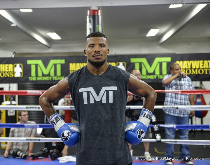 Badou Jack is set to take on James Degale in a highly anticipated super middleweight match-up. Photo Credit: Idris Erba/Mayweather Promotions