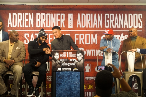 Adrian Granados speaks on his upcoming fight with Adrien Broner. Photo credit:  Mayweather Promotions