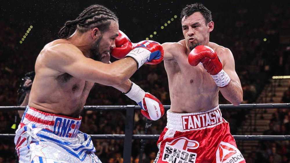 Keith Thurman battled Robert Guerrero in March 2015 to win a clear unanimous decision. Photo: Lucas Noonan/Premier Boxing Champions