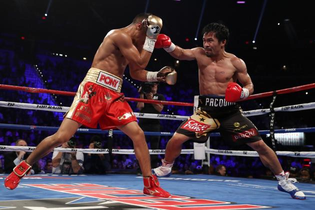 Manny Pacquiao won the WBO welterweight championship against Jessie Vargas last November. Photo: Christian Petersen/Getty Images