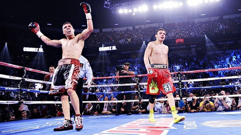Sergio Martinez and Julio Cesar Chavez Jr. fought in September 2012. Photo: Jeff Bottari/Getty Images