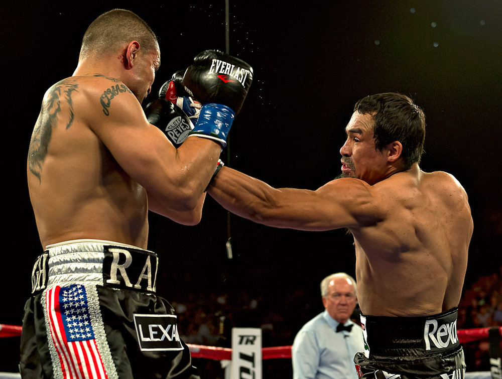 Juan Manuel Marquez last fought over three years ago against Mike Alvarado. Photo: Mexisports