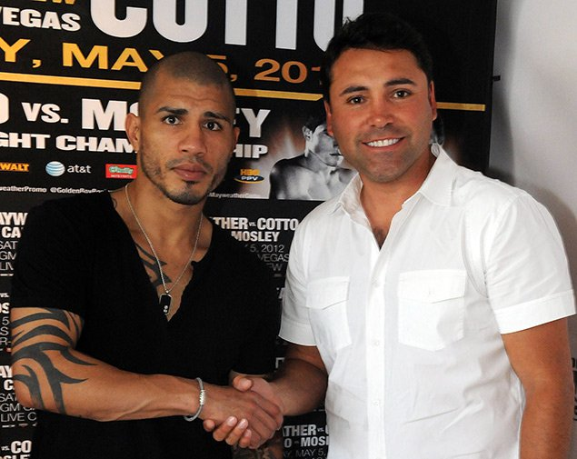 Miguel Cotto and Golden Boy Promotions will work together to advance boxing in Puerto Rico. Photo: Gerardo Mora/Getty Images