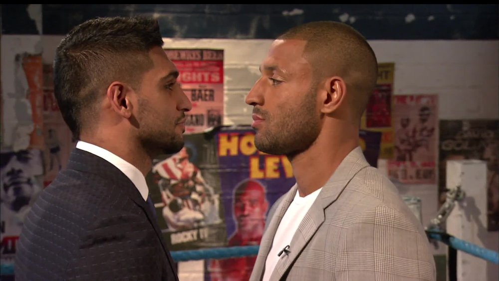 Kell Brook vs. Amir Khan would still be a big event in the U.K. Photo: Sky Sports