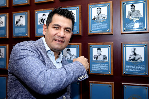 Marco Antonio Barrera was inducted into the International Boxing Hall of Fame this past weekend. Photo: Alex Menendez/Getty Images