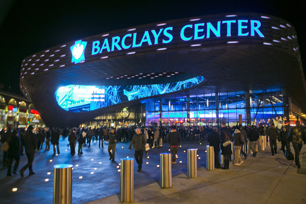 The Barclays Center in Brooklyn, New York has had its share of boxing the past few years. Photo: Ray Stubblebine/Reuters