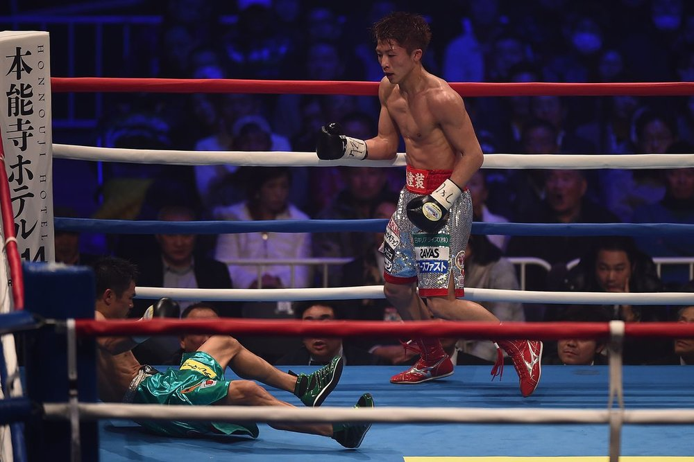 Naoya Inoue will make his United States debut on September 9th. Photo: Matt Reeves/Getty Images