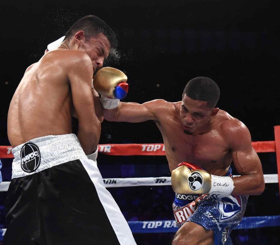 Felix Verdejo is his last fight against Oliver Flores. Photo: Andre Kang