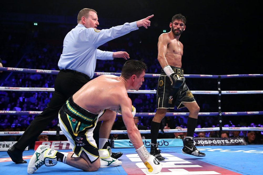 Jorge Linares defeated Anthony Crolla twice in the United Kingdom. Photo: Alex Livesey/Getty Images
