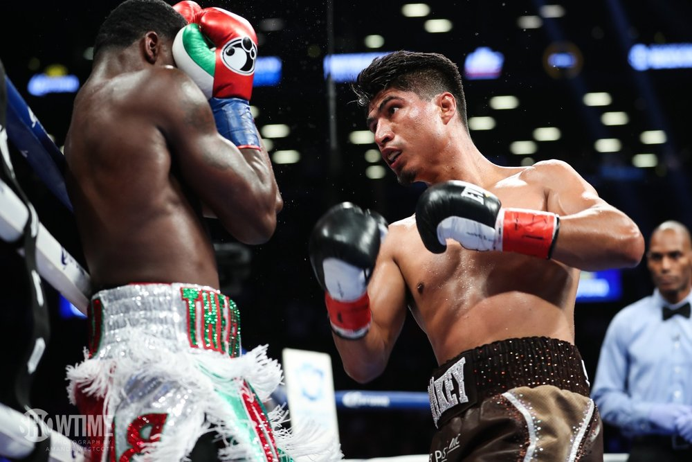 Mikey Garcia gets the wide unanimous decision victory over Adrien Broner. Photo: Amanda Westcott/Showtime
