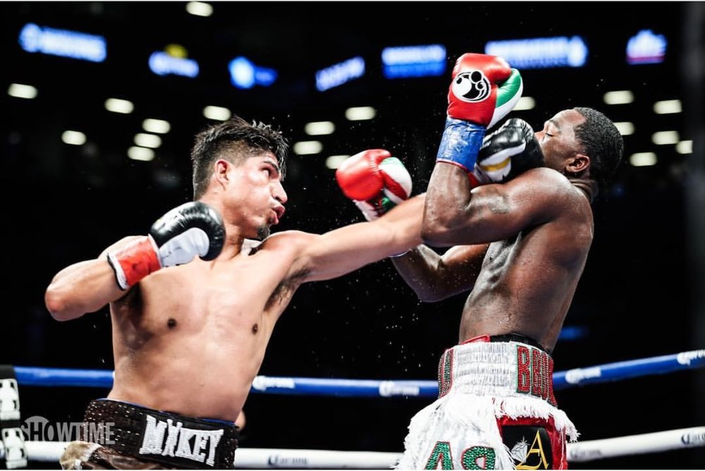Mikey Garcia defeated Adrien Broner by a wide unanimous decision last weekend. Photo: Amanda Westcott/Showtime