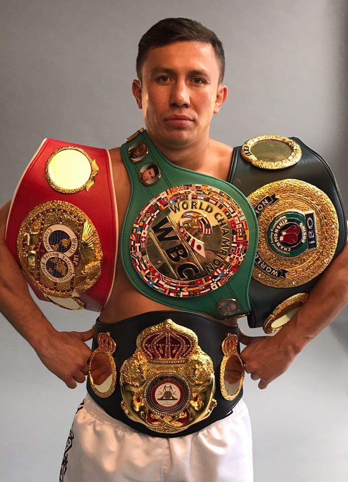 Gennady Golovkin has made 18 title defenses in the middleweight division. Photo: Team GGG