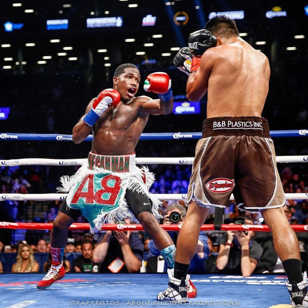 Adrien Broner lost a wide unanimous decision to Mikey Garcia when they met at 140-pounds on July 29th.  Photo: Stephanie Trapp/ @trappfotos