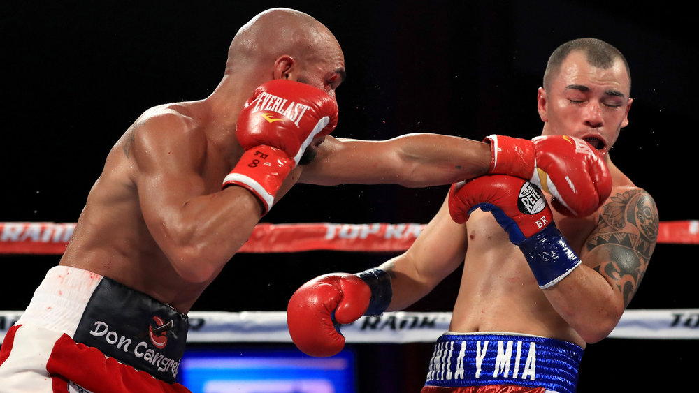 Ray Beltran won a majority decision over Bryan Vasquez on the undercard of Lomachenko-Marriaga on August 5th. Photo: Sean M. Haffey/Getty Images
