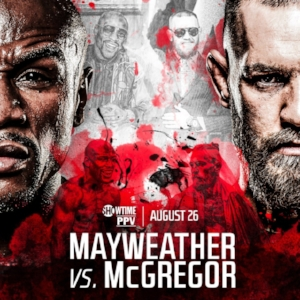 Floyd Mayweather Conor McGregor Boxing Poster