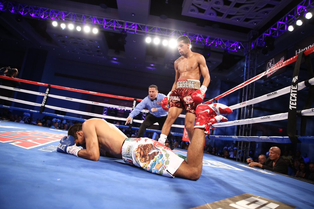 Alberto Machado won a unanimous decision over Carlos Morales in Puerto Rico. Photo: Golden Boy Promotions