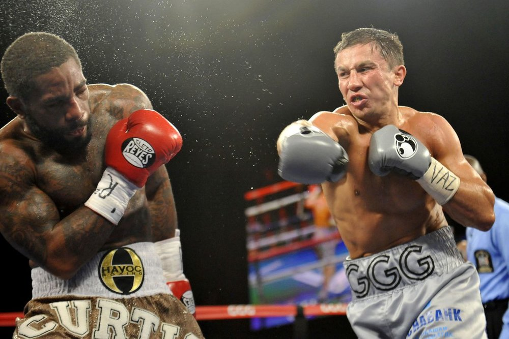 Gennady Golovkin stopped Curtis Stevens in November 2013 in one of his most famous bouts. Photo: Joe Camporeale/USA TODAY Sports