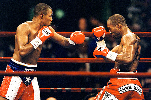 Bernard Hopkins defeated Felix Trinidad to win Don King's middleweight tournament in 2001. Photo: ESPN