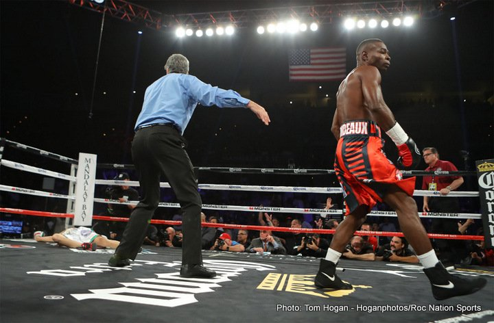 Guillermo Rigondeaux's bout with Moises Flores was overturned to a no-contest. Photo: Tom Hogan/Hogan Photos