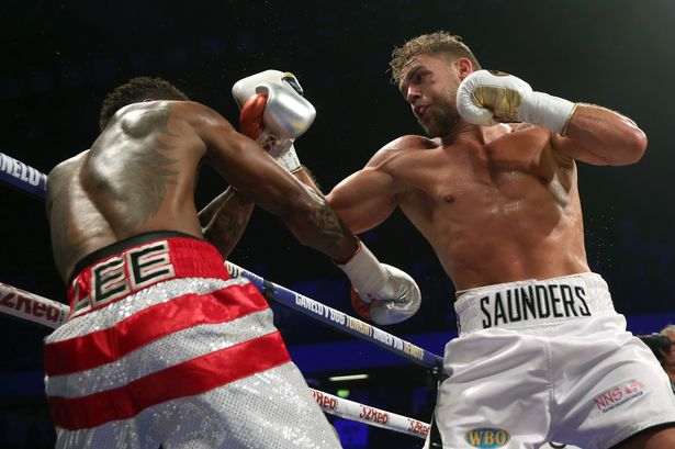 Billy Joe Saunders defeated Willie Monroe Jr. at Copper Box Arena to retain his WBO middleweight title. Photo: PA