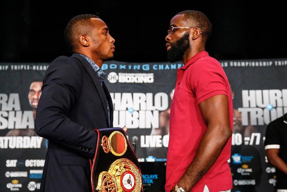 Erislandy Lara vs Terrell Gausha. Photo Credit: Stephanie Trapp / Showtime