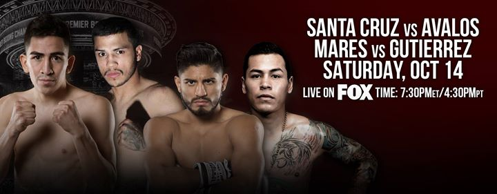 Santa Cruz v Avalos & Mares v Gutierrez Oct 14 - Photo credit: Premier Boxing Champions