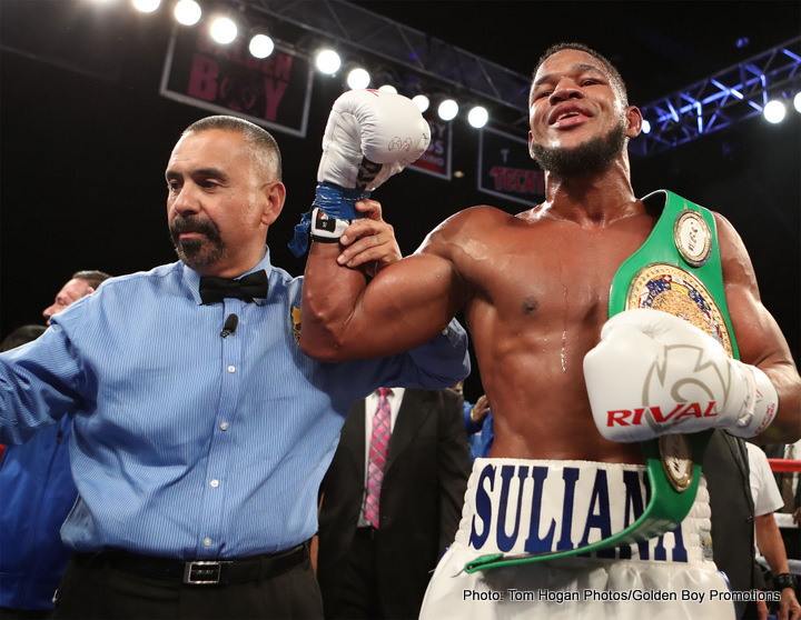 Sullivan Barrera is poised to make an impact on the light heavyweight division. Photo Credit: Tom Hogan /Golden Boy Promotions