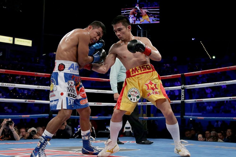 Srisaket Sor Rungvisai knocked out Roman Gonzalez in the fourth-round in their rematch last September. Photo: Jeff Gross/Getty