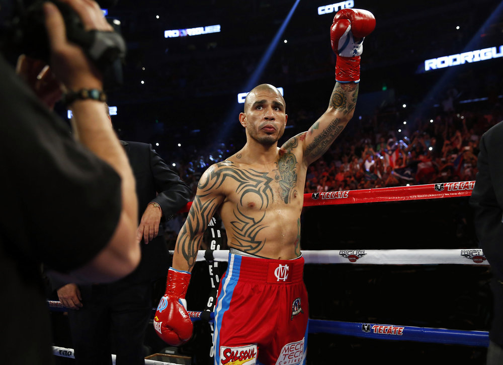 Miguel Cotto will make his final appearance inside the ring against Sadam Ali. Photo: HBO Sports