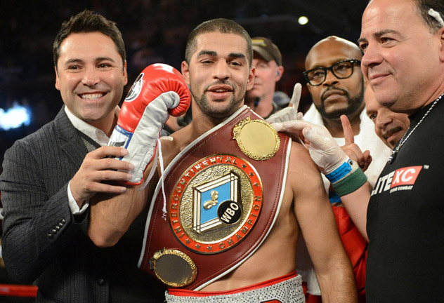 Sadam Ali will get his second opportunity at a world title against Miguel Cotto. Photo: Tom Hogan/Hogan Photos/Golden Boy Promotions