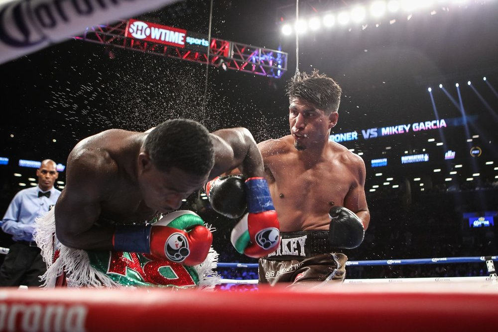 Mikey Garcia won a unanimous decision over Adrien Broner this past July. Photo: Tom Casino/SHOWTIME