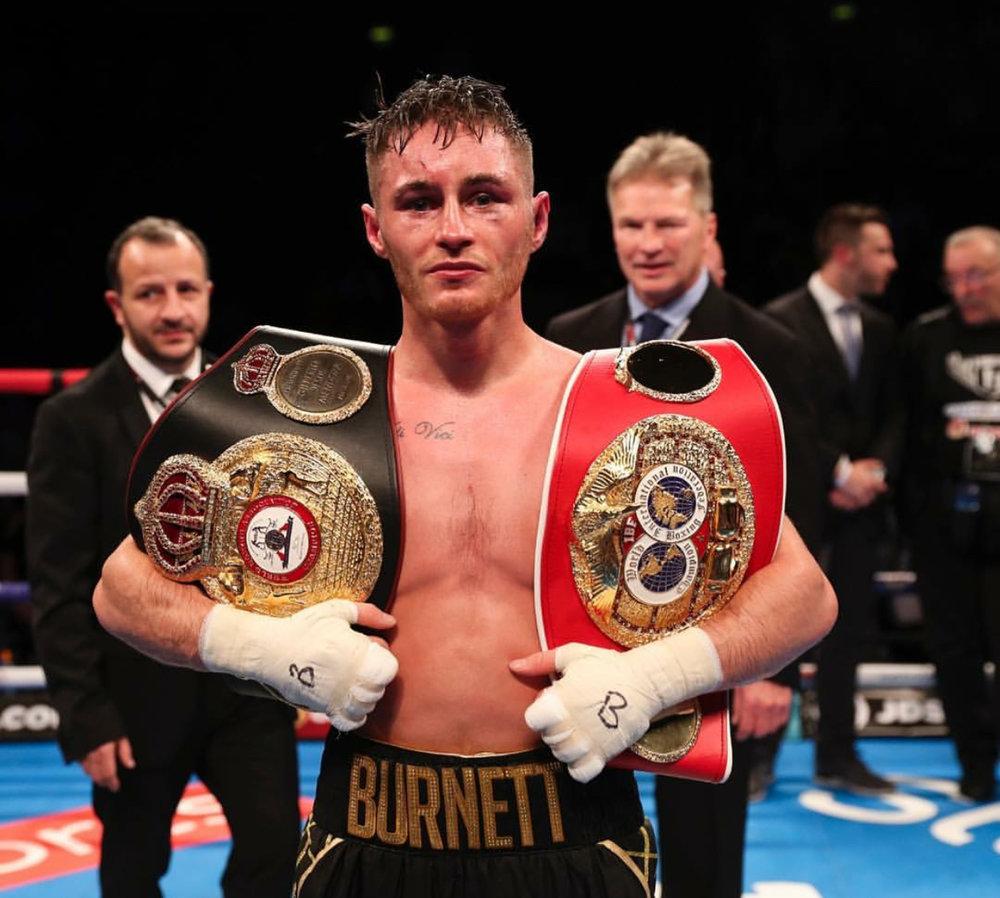 Ryan Burnett now holds the WBA and IBF bantamweight championships. Photo: Matchroom Boxing