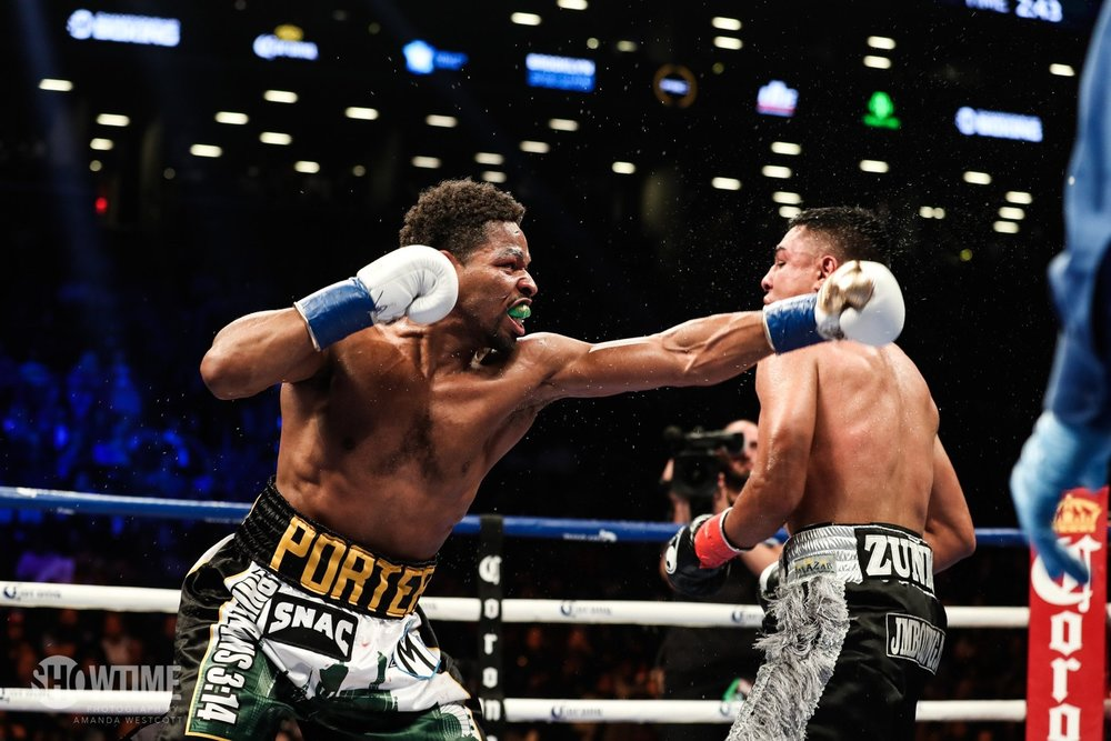 Shawn Porter won a unanimous decision over Adrian Granados with scores of 117-111 from all three judges. Photo: Amanda Westcott/Showtime