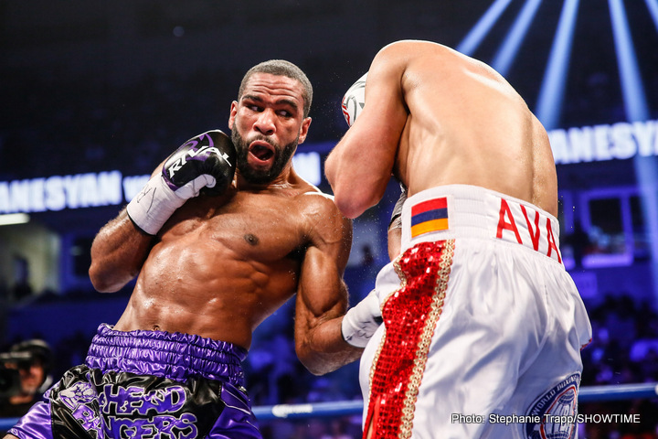 "Lamont Peterson won the WBA ""regular"" welterweight title against David Avanesyan this past February. Photo: Stephanie Trapp/Showtime Sports"