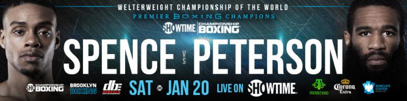 Errol Spence vs Lamont Peterson Boxing
