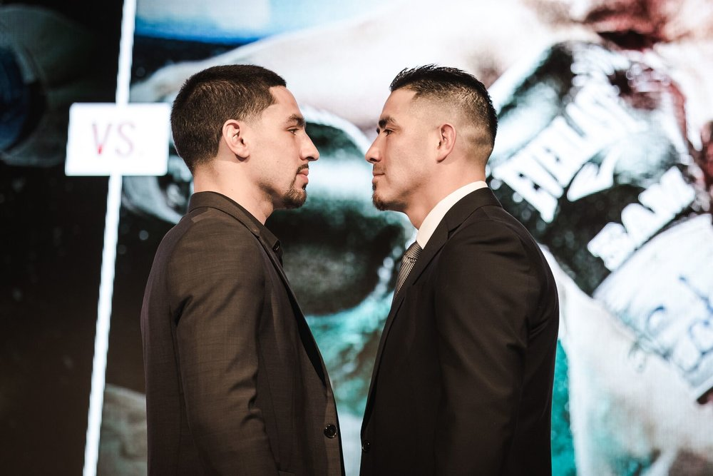 Danny Garcia and Brandon Rios are set to clash Feb. 17 in Las Vegas. Photo: Amnda Westcott/Showtime