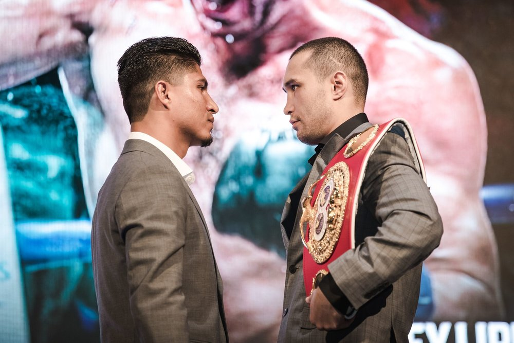 Mikey Garcia and Sergey Lipinets are set to go March 10, from San Antonio. Photo: Amanda Westcott/Showtime