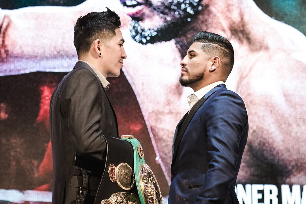 Leo Santa Cruz will defend his title in a much anticipated rematch against Abner Mares June 9, from the Staples Center in Los Angeles. Photo: Amanda Westcott/Showtime